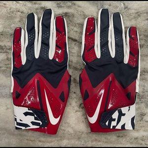 Nike Vapor Fly Receiver Gloves Houston Texans NFL Football Size XL PGF300-130.